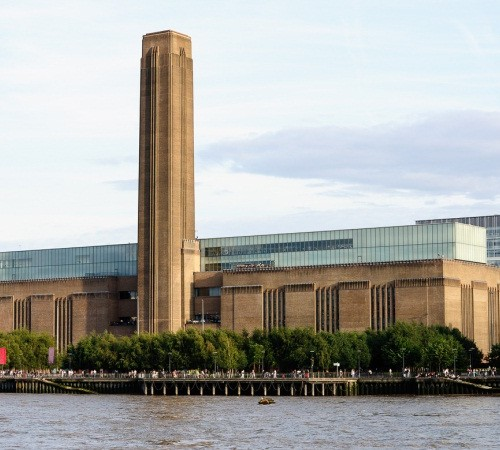 Bankside (Tate Modern) from River