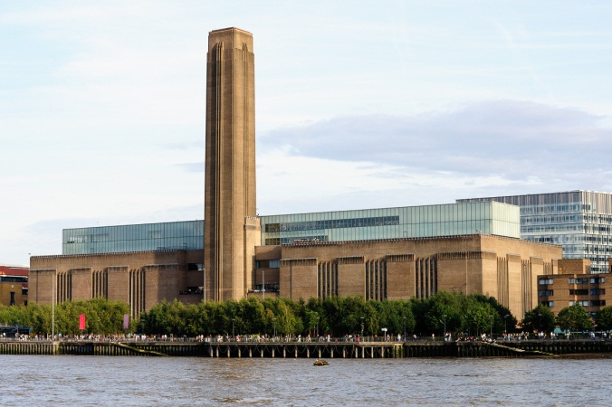 Bankside (Tate Modern) from River