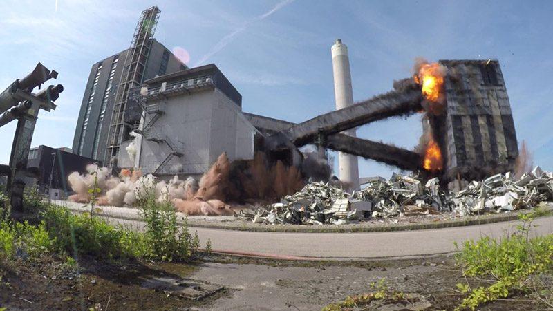 Rugeley Demolition Event Explosive Demolition 2