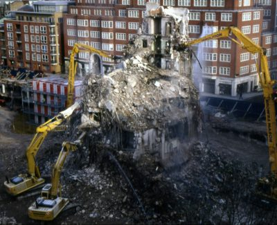 Marsham Street Demolition