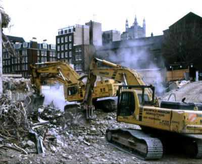 Marsham Street Demolition Westminster